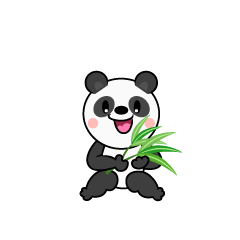 Walking Panda Character