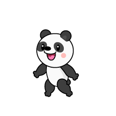 Speaking Panda Character
