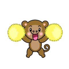 Sleeping Monkey Character