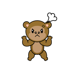 Angry Monkey Character