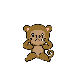 Very Relaxing Monkey Character
