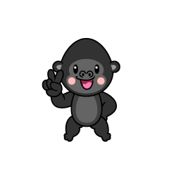 Singing Gorilla Character