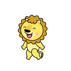 Speaking Lion Character