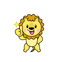 Lion Character to be proud