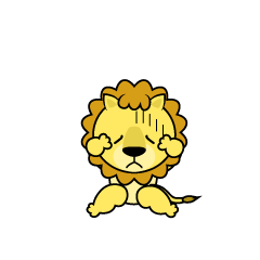 Troubled Lion Character