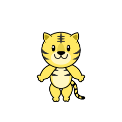 Tiger Character to dance