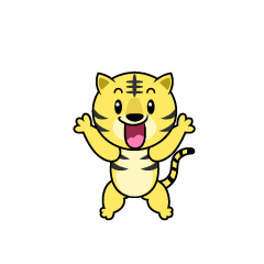 Surprised Tiger Character