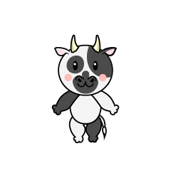 Dancing Cow Character