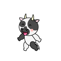Speaking Cow Character