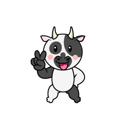 Singing Cow Character