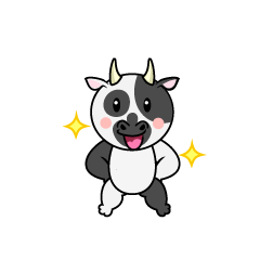 Cow Character to be good