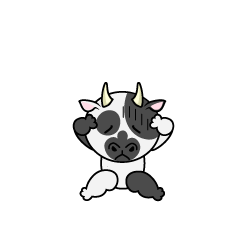 Troubled cattle character