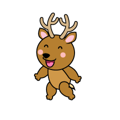 Talking Deer Character