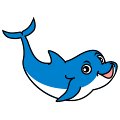 Dolphin character