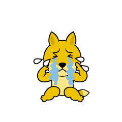 Fox character depressed