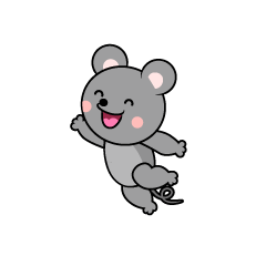 Jumping Mouse Character