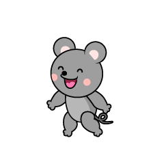 Talking Mouse Character