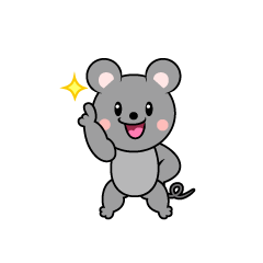 Mouse Character to be No.1