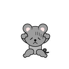 Troubled Mouse Character