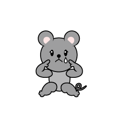 Relaxing Mouse Character
