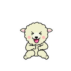 Laughing Sheep Character