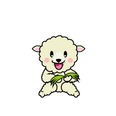Walking Sheep Character