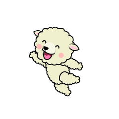 Jumping Sheep Character