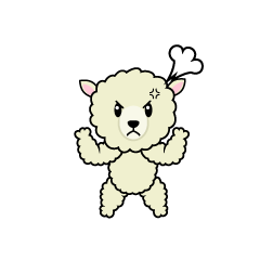 Angry Sheep Character