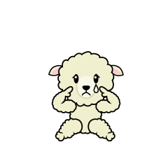 Relaxing Sheep Character