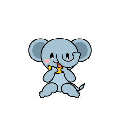 Walking Elephant Character
