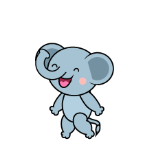Talking Elephant Character