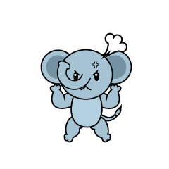 Angry Elephant Character