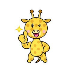 Giraffe Character to be Proud