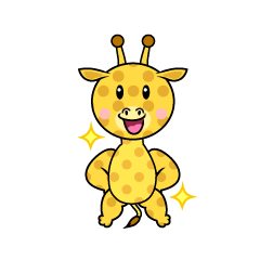 Giraffe Character to be Good