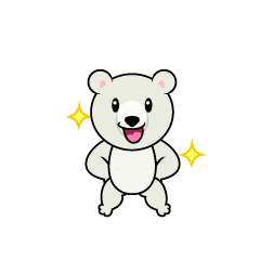 Polar Bear Character to be Good