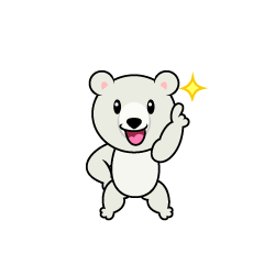 Polar Bear Character to be No.1