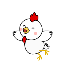 Jumping Chicken Character