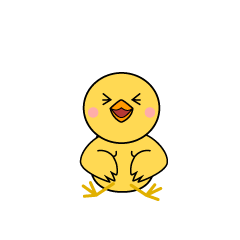 Laughing Chick Character