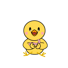 Walking Chick Character
