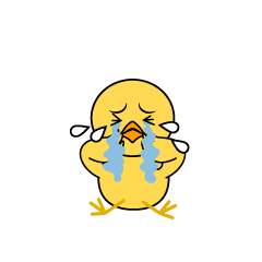 Depressed Chick Character