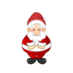Santa Character to bow