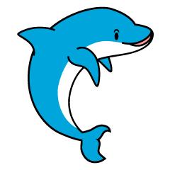 まとめ イルカのフリーイラスト素材 イラストイメージ