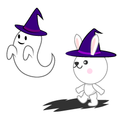 Ghosts and rabbit