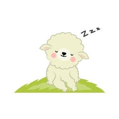Sheep Sleeping