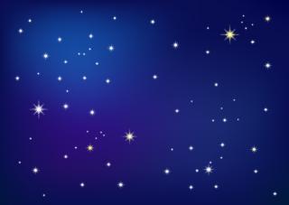 星が綺麗な夜空