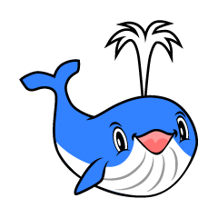 Whale character