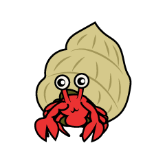 Hermit crab character